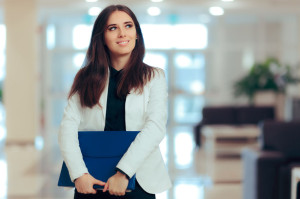 95793132 - female entrepreneur  business executive manager in office workplace